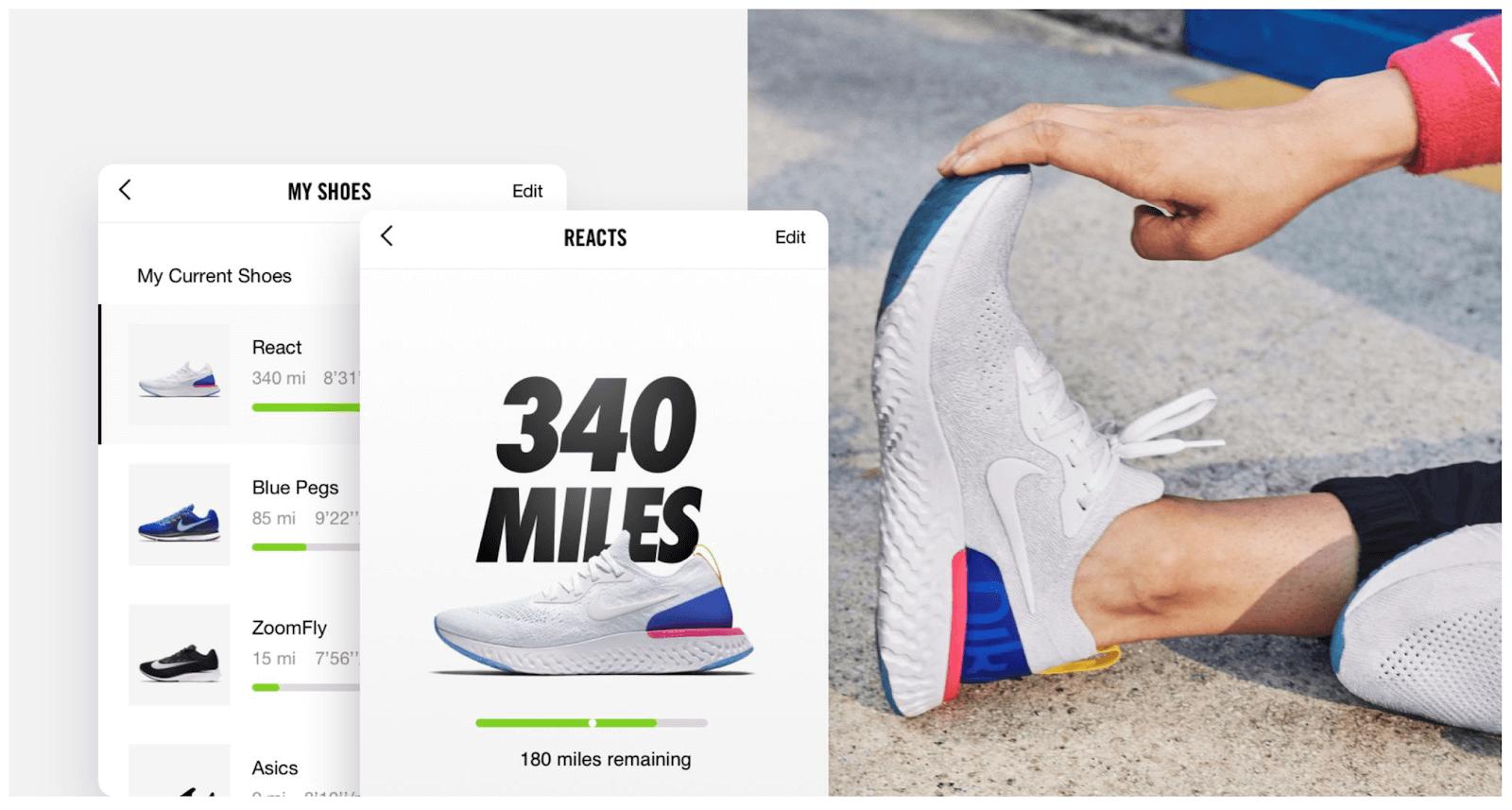 Image of Nike shoes.