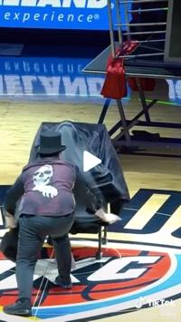 Screenshot of NBA video on TikTok