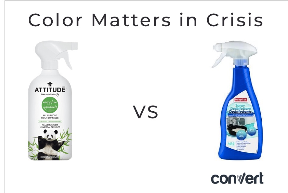 Product color psychology during COVID-19