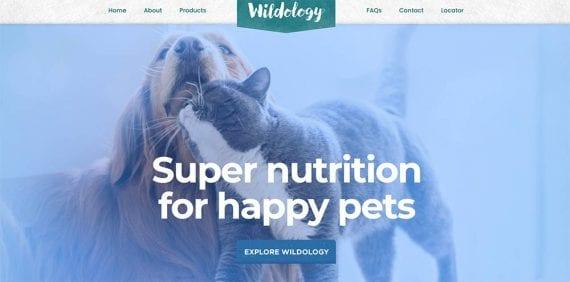 Screenshot from Wildology website